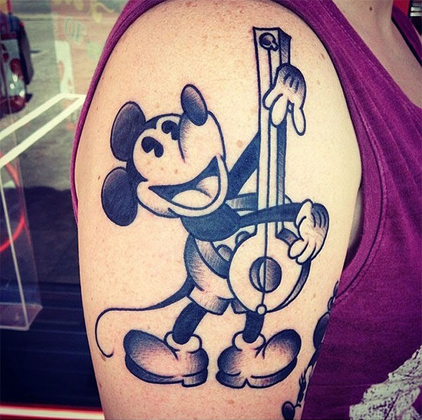 Mickey. <span class=meta>(disneyink &#47; Instagram)</span>