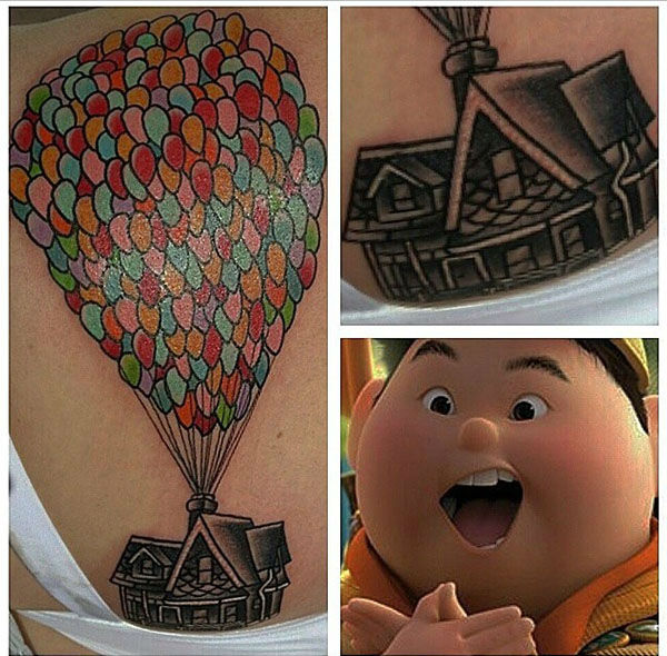 Up. <span class=meta>disneyink / Instagram</span>