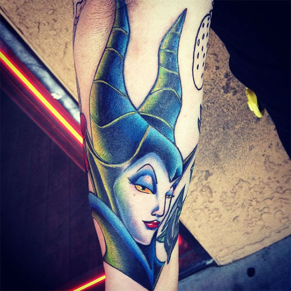 Maleficent. <span class=meta>emmanuellargher / Instagram</span>