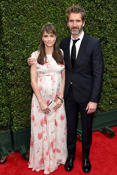 Amanda Peet and David Benioff <span class=meta>(John Shearer&#47;Invision for the Television Academy&#47;AP Images)</span>