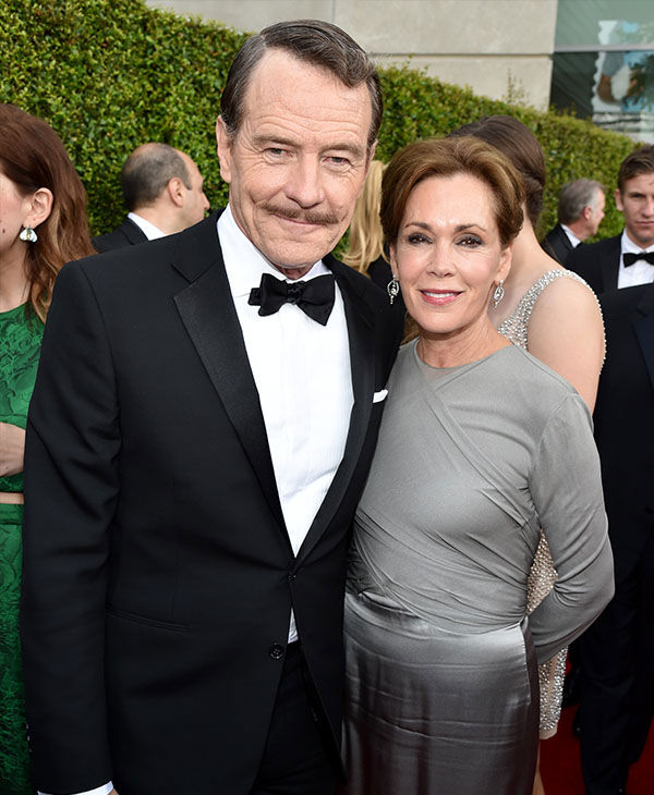 Bryan Cranston and Robin Dearden <span class=meta>(John Shearer&#47;Invision for the Television Academy&#47;AP Images)</span>