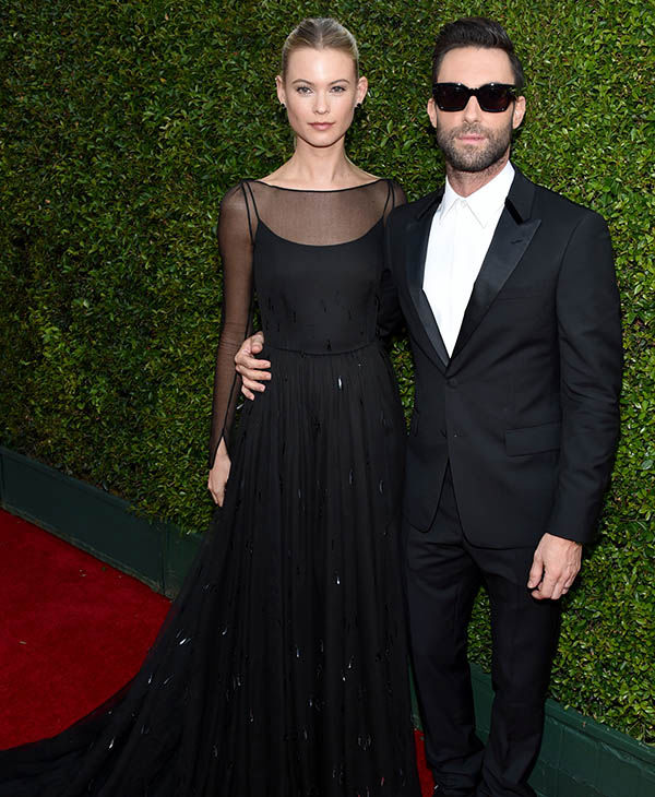 Behati Prinsloo and Adam Levine <span class=meta>(John Shearer&#47;Invision for the Television Academy&#47;AP Images)</span>
