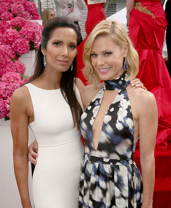Padma Lakshmi and Julie Bowen <span class=meta>(Matt Sayles&#47;Invision for the Television Academy&#47;AP Images)</span>