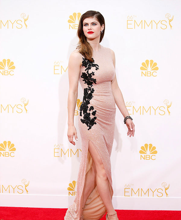 Alexandra Daddario  <span class=meta>(Danny Moloshok&#47;Invision for the Television Academy&#47;AP Images)</span>