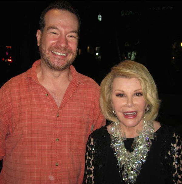 Joan Rivers jokes about her death at comedy show hours before heart attack <span class=meta>(Shade Rupe)</span>