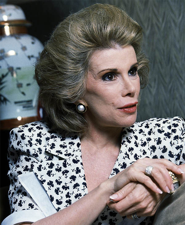 <div class='meta'><div class='origin-logo' data-origin='none'></div><span class='caption-text' data-credit='AP Photo / Rick Malman'>Joan Rivers in 1988.</span></div>