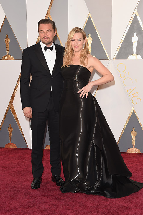 <div class='meta'><div class='origin-logo' data-origin='none'></div><span class='caption-text' data-credit='Jason Merritt/Getty Images'>Actors Leonardo DiCaprio (L) and Kate Winslet attend the 88th Annual Academy Awards at Hollywood & Highland Center on February 28, 2016 in Hollywood, California.</span></div>