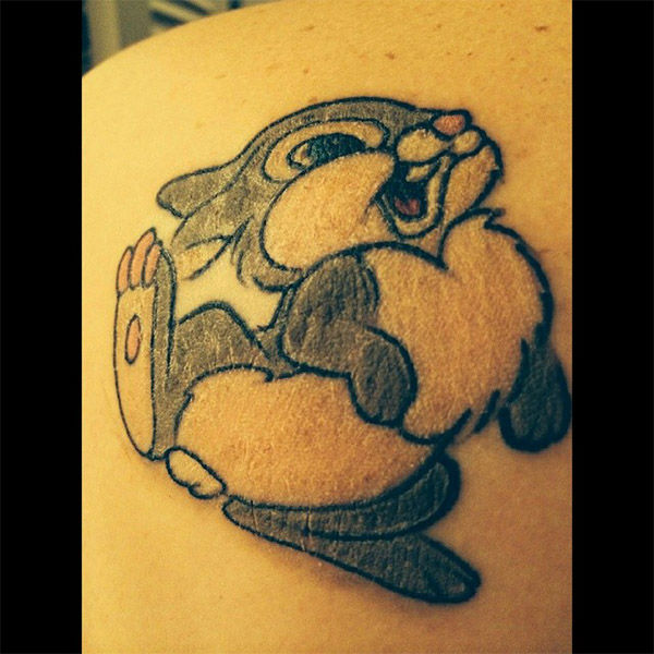 Thumper. <span class=meta>(nicoleshari1.jpg &#47; Instagram)</span>