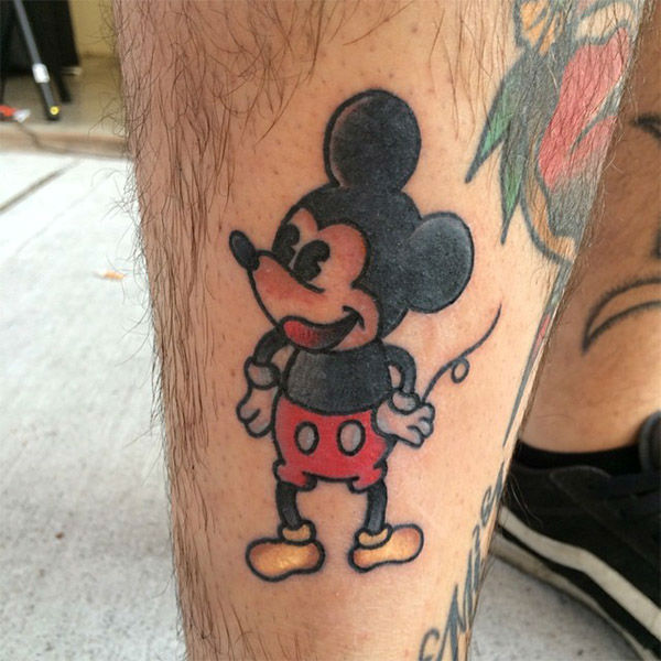 Mickey. <span class=meta>(tattooker &#47; Instagram)</span>