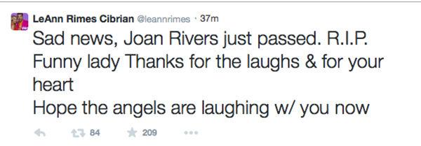 LeAnn Rimes Cibrian <span class=meta>LeAnn Rimes Cibrian/Twitter</span>
