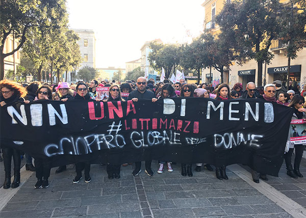 "<div class=""meta image-caption""><div class=""origin-logo origin-image wtvd""><span>wtvd</span></div><span class=""caption-text"">Groups gather in Pescara, Italy for International Women's Day. (Daniela Santroni)</span></div>"