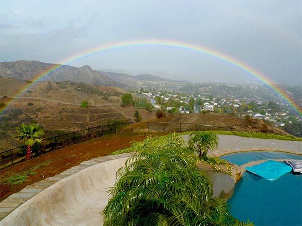 <div class='meta'><div class='origin-logo' data-origin='KABC'></div><span class='caption-text' data-credit='ABC7 viewer John Campbell'>ABC7 viewer John Campbell shared this photo of a rainbow from West Hills on Wednesday, Jan. 6, 2016.</span></div>