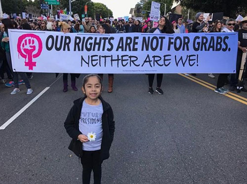 <div class='meta'><div class='origin-logo' data-origin='none'></div><span class='caption-text' data-credit='ricodazombie'>Demonstrators created signs and posters for the Women's Marches across Southern California on Saturday, Jan. 21, 2017.</span></div>