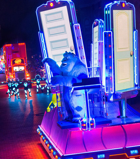 <div class='meta'><div class='origin-logo' data-origin='KABC'></div><span class='caption-text' data-credit=''>Sully from &#34;Monster's Inc.&#34; is featured in a new parade called &#34;Paint the Night&#34; as part of Disneyland's 60-year anniversary celebration.</span></div>