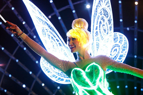 <div class='meta'><div class='origin-logo' data-origin='KABC'></div><span class='caption-text' data-credit=''>Tinker Bell is featured in the new parade &#34;Paint the Night&#34; as part of Disneyland's 60-year anniversary diamond celebration.</span></div>