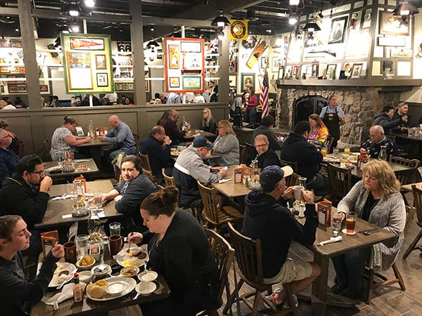 <div class='meta'><div class='origin-logo' data-origin='KABC'></div><span class='caption-text' data-credit=''>Customers are seen at the new Cracker Barrel location in Victorville on Monday, Feb. 5, 2018.</span></div>