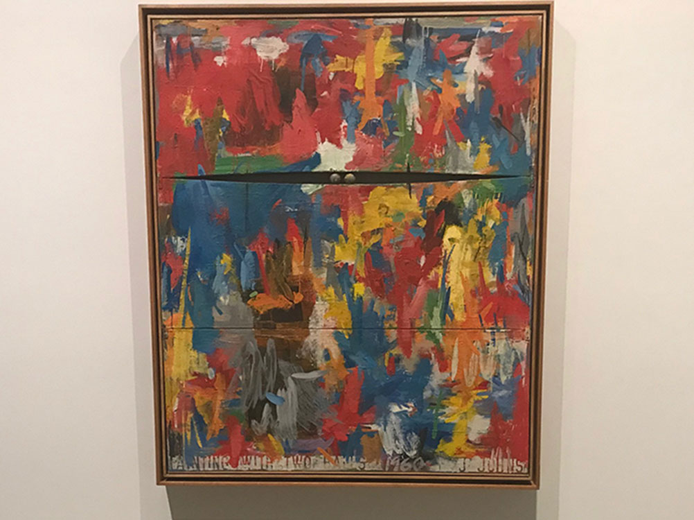 <div class='meta'><div class='origin-logo' data-origin='KABC'></div><span class='caption-text' data-credit=''>A Jasper Johns exhibit is opening at the Broad museum.</span></div>