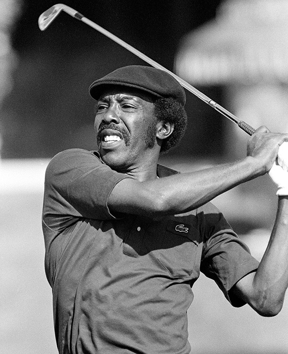 <div class='meta'><div class='origin-logo' data-origin='none'></div><span class='caption-text' data-credit='AP Photo/Lennox McLendon'>Calvin Peete, the most successful black player on the PGA Tour before the arrival of Tiger Woods, died Wednesday, April 29, 2015. He was 71.</span></div>