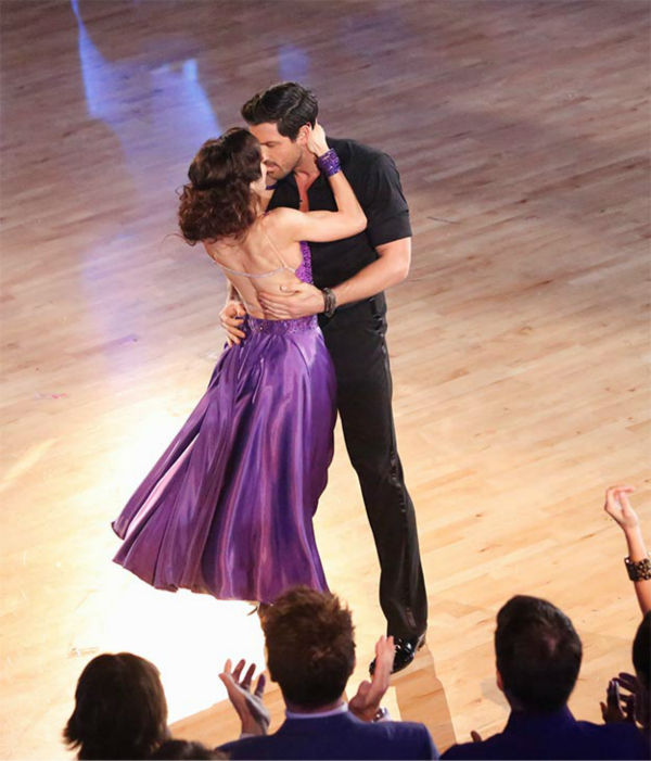dwts week 10 meryl and maks dating