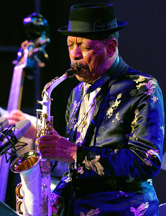 "<div class=""meta image-caption""><div class=""origin-logo origin-image none""><span>none</span></div><span class=""caption-text"">Jazz legend Ornette Coleman, the visionary saxophonist who pioneered 'free jazz' and won a Pulitzer Prize in 2007, died Thursday, June 11, 2015. He was 85. (AP Photo/Boris Grdanoski)</span></div>"