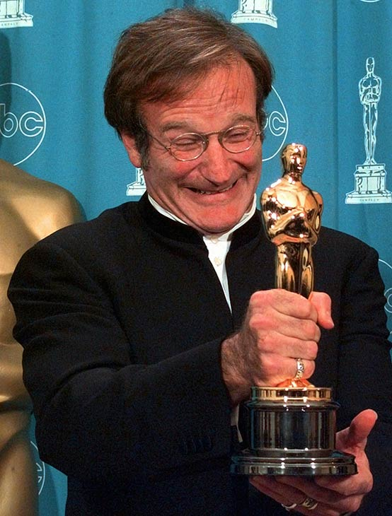 <div class='meta'><div class='origin-logo' data-origin='none'></div><span class='caption-text' data-credit='AP Photo/Reed Saxon'>Actor-comedian Robin Williams was found dead of apparent suicide at his Northern California home on Monday, August 11, 2014. He was 63.</span></div>