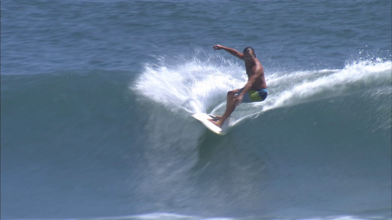 Surfing malibu california