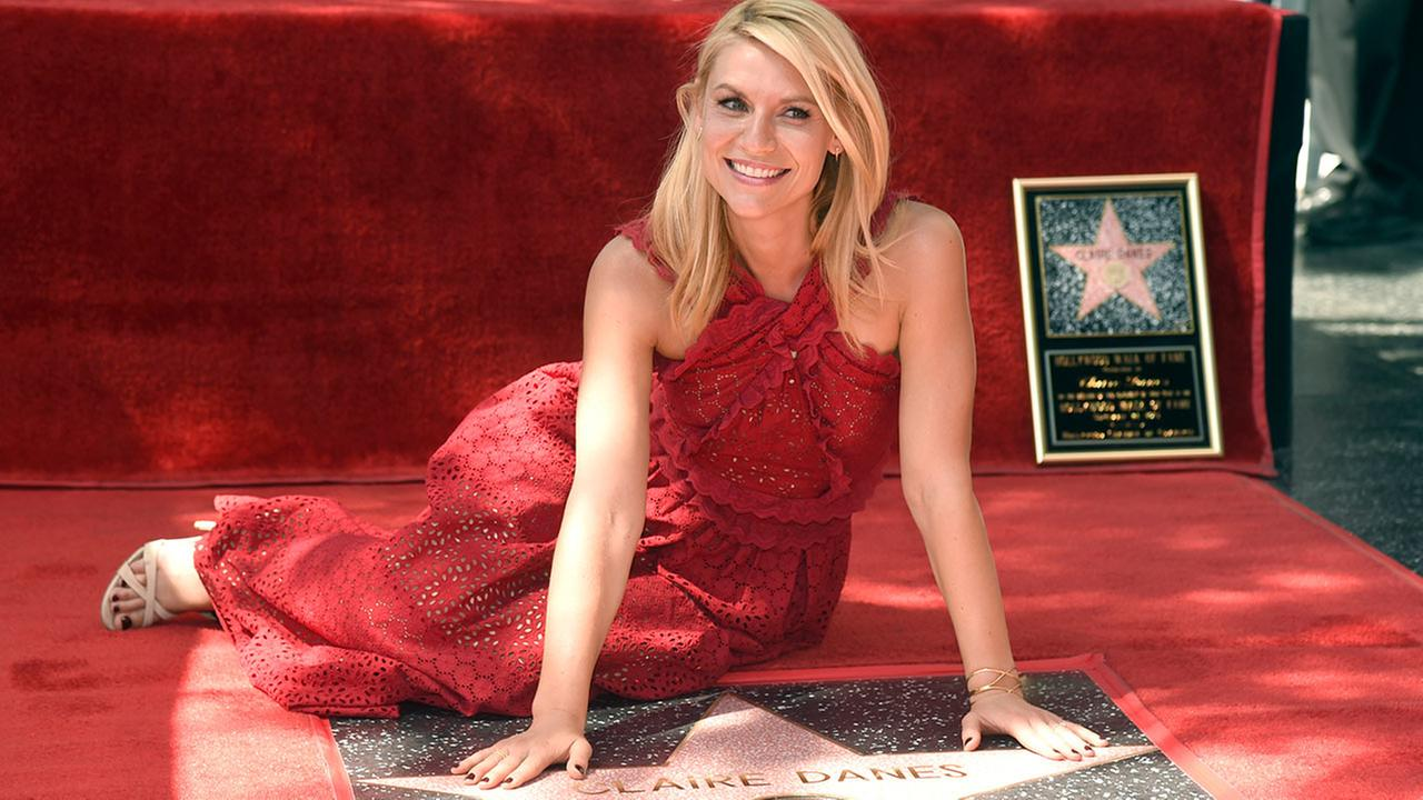 Claire Danes Finally Gets Her Star On The Hollywood Walk Of Fame