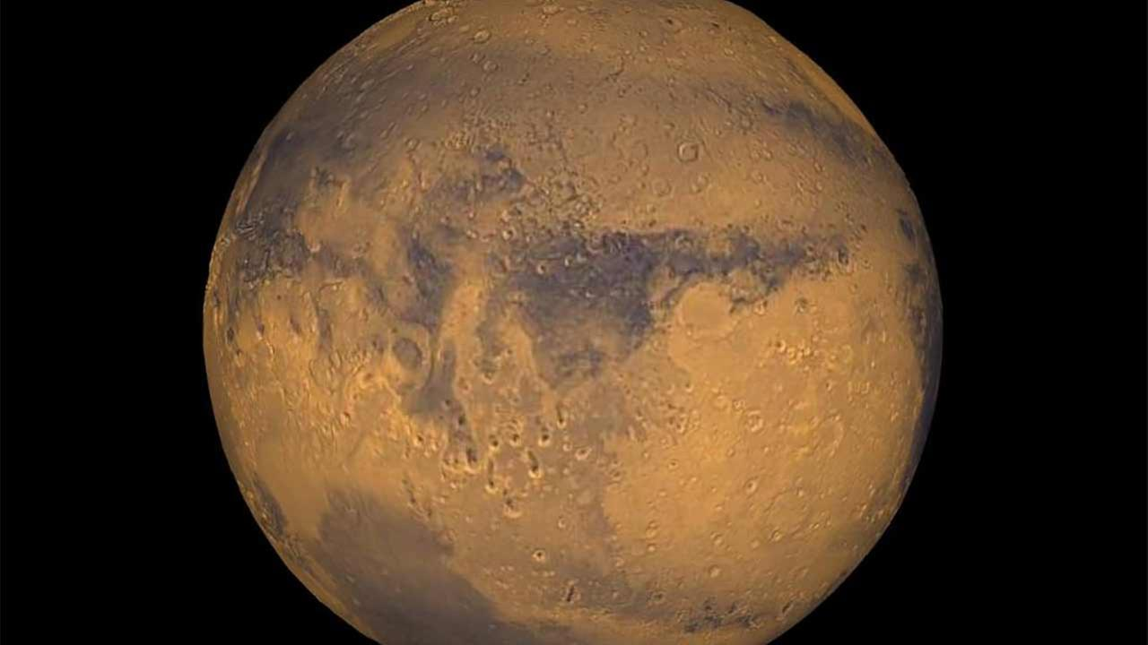 Mars is seen in this photo provided by NASA.