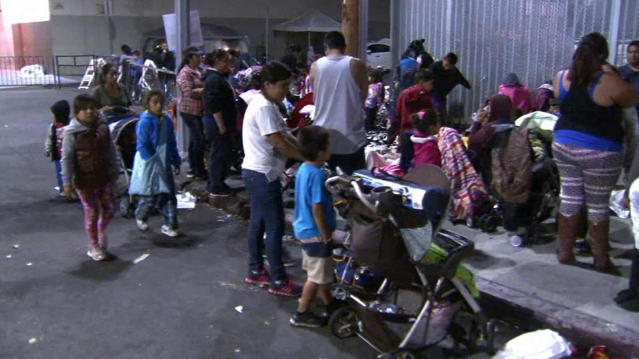 More than 4,000 underprivileged kids will receive free athletic shoes, clothing and backpacks filled with school supplies at Fred Jordan Missions back-to-school giveaway.