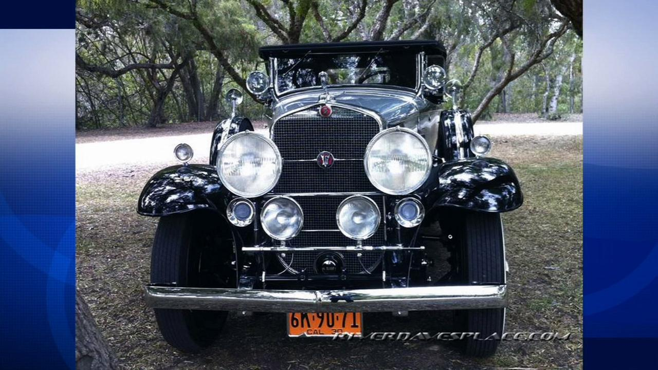 A 1930 Cadillac V16 Roadster is shown in an undated file image.
