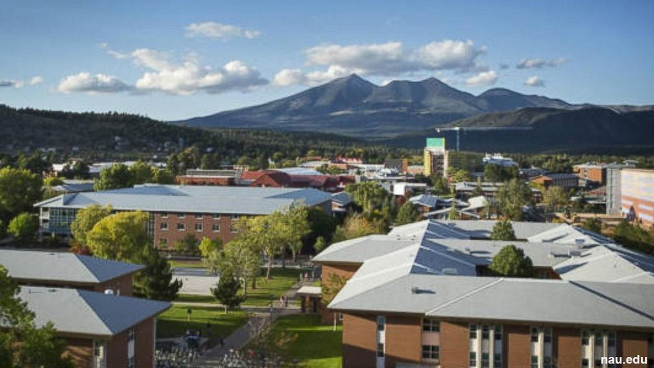 Northern Arizona Universitys Flagstaff campus is seen in this undated file photo.