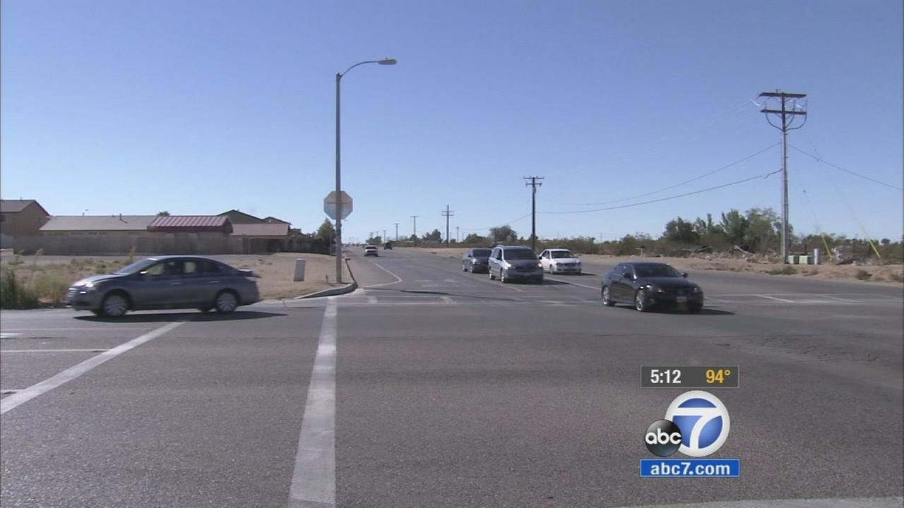 A 15-year-old girl was allegedly abducted and raped while walking to Adelanto High School near Mojave Drive and Jonathan Street on Wednesday, Oct. 7, 2015.