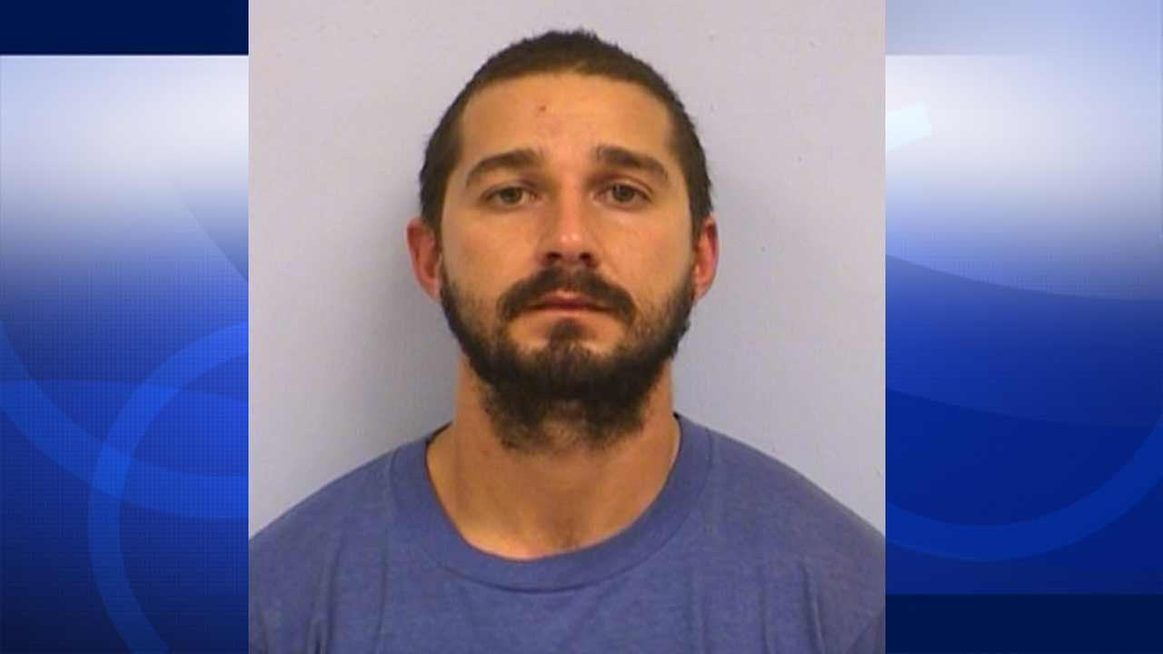 Shia LaBeouf was arrested for public intoxication in Austins Sixth Street entertainment district on Friday, Oct. 9, 2015.