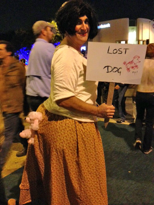 <div class='meta'><div class='origin-logo' data-origin='none'></div><span class='caption-text' data-credit=''>A reveler shows his Halloween spirit at the West Hollywood Carnaval on Friday, Oct. 31, 2014.</span></div>