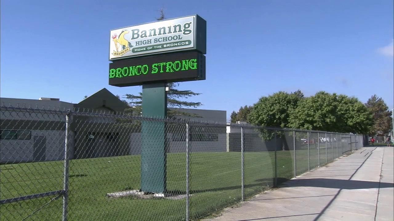 A fire at Banning High School on Thursday, Oct. 15, 2015 has been deemed arson.
