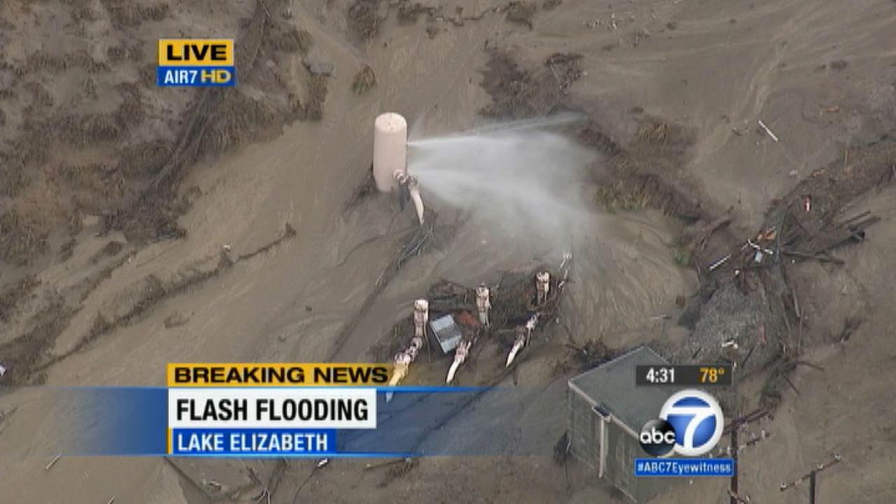 Flash Flood Watch Canceled for IE; Cleanup Continues From ...  |Antelope Valley Flash Flood