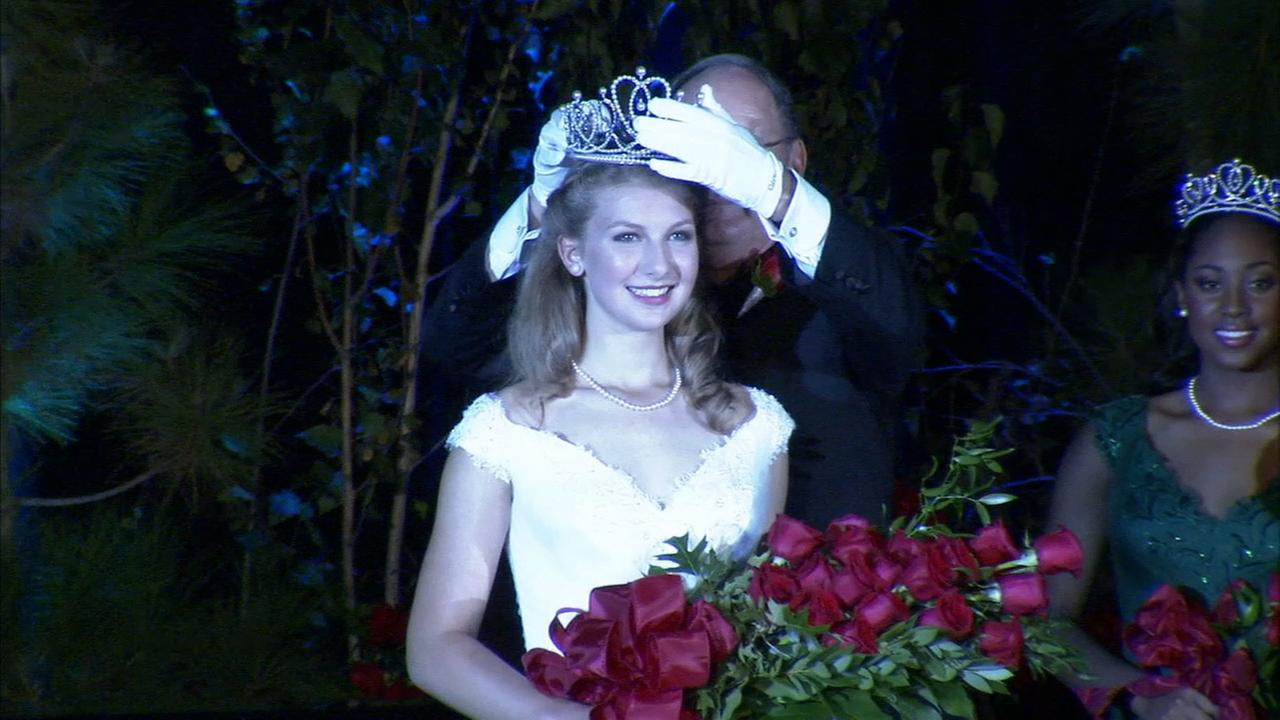 Erika Winter was named the 98th Rose Queen by the Tournament of Roses on Thursday, Oct. 22, 2015.