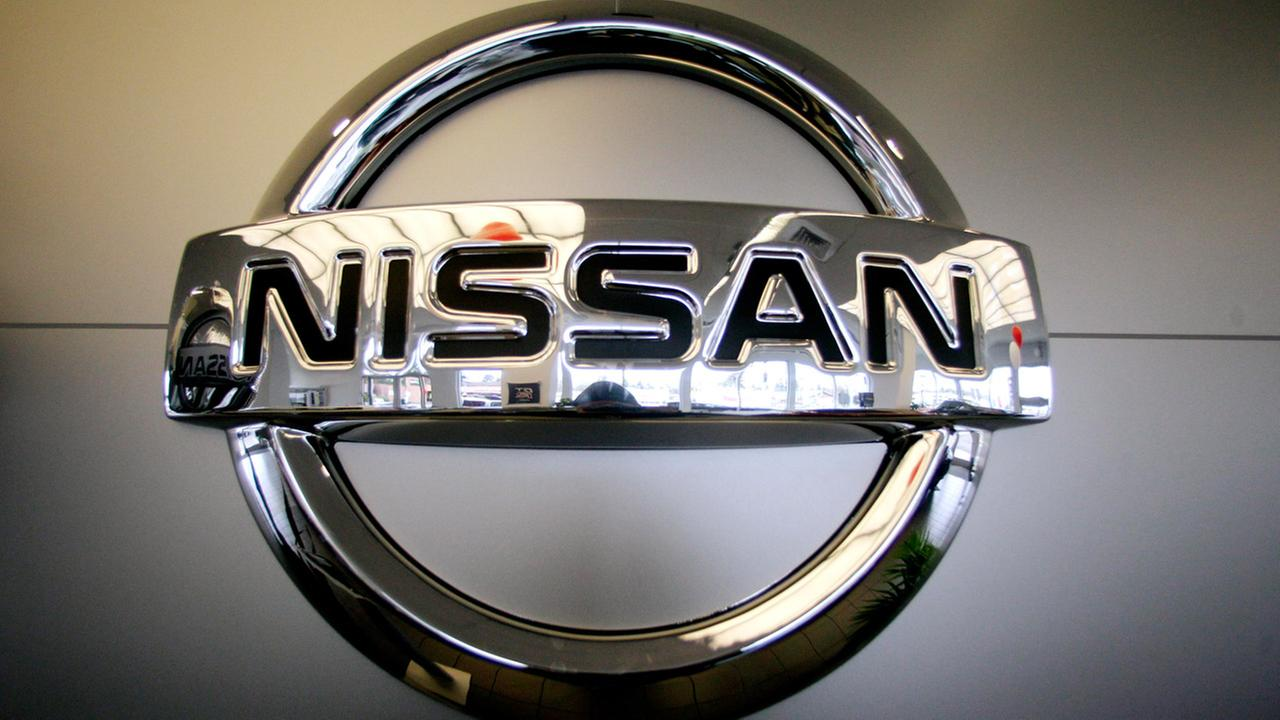 In this March 30, 2011, file photo, a Nissan logo is shown at Gladstone, in Gladstone, Ore.