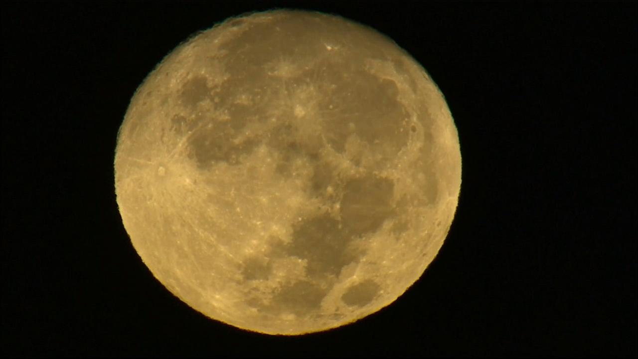 AIR7 HD captured this stunning image of the last supermoon of the year on Tuesday, Oct. 27, 2015.