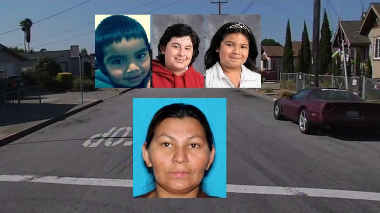 An Amber Alert has been issued for 12-year-old Hugo Anguiano, 6-year-old Merari Anguiano and 3-year-old Jenh Carlo Anguiano after their father was found shot to death in San Pablo.