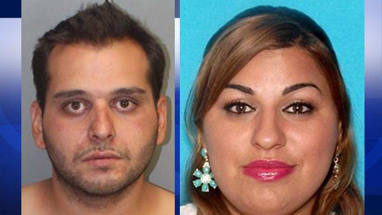 Travis Rusty Jace, 25, and Angie Janie George, 24, are seen in two undated file photos.