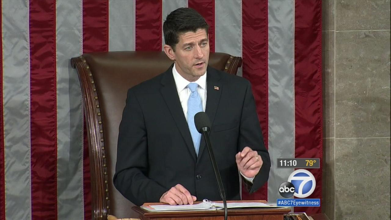 Wisconsin Republican Rep. Paul Ryan was elected Speaker of the House on Thursday, Oct. 29, 2015.