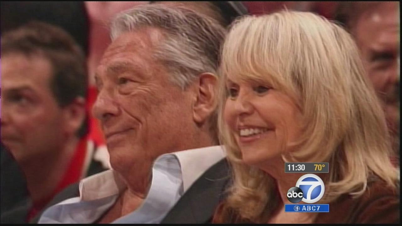 Donald and Shelly Sterling are seen in an undated file photo.
