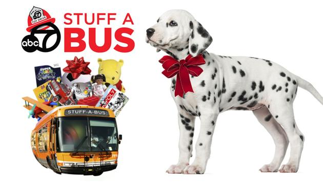 Spark of Love Toy Drive - Stuff-a-Bus