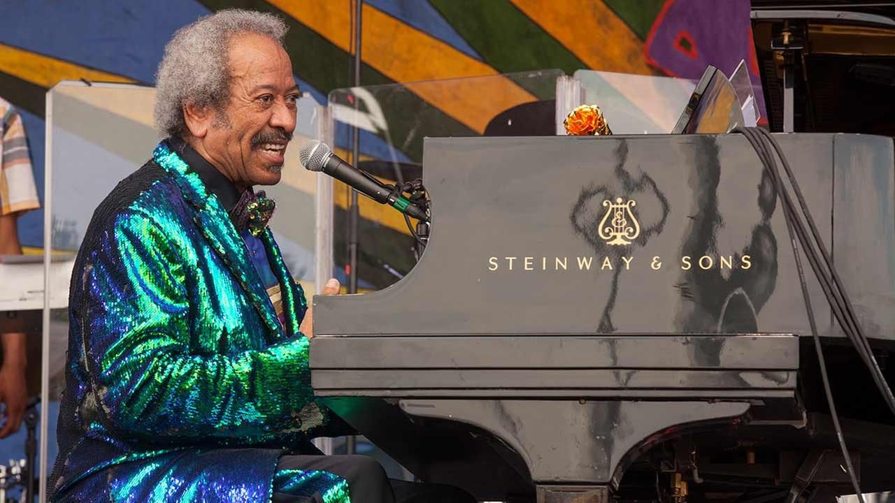 Legendary New Orleans musician and composer Allen Toussaint died in Madrid on Tuesday, Nov. 10, 2015 after suffering a heart attack at the age of 77.Barry Brecheisen/Invision/AP