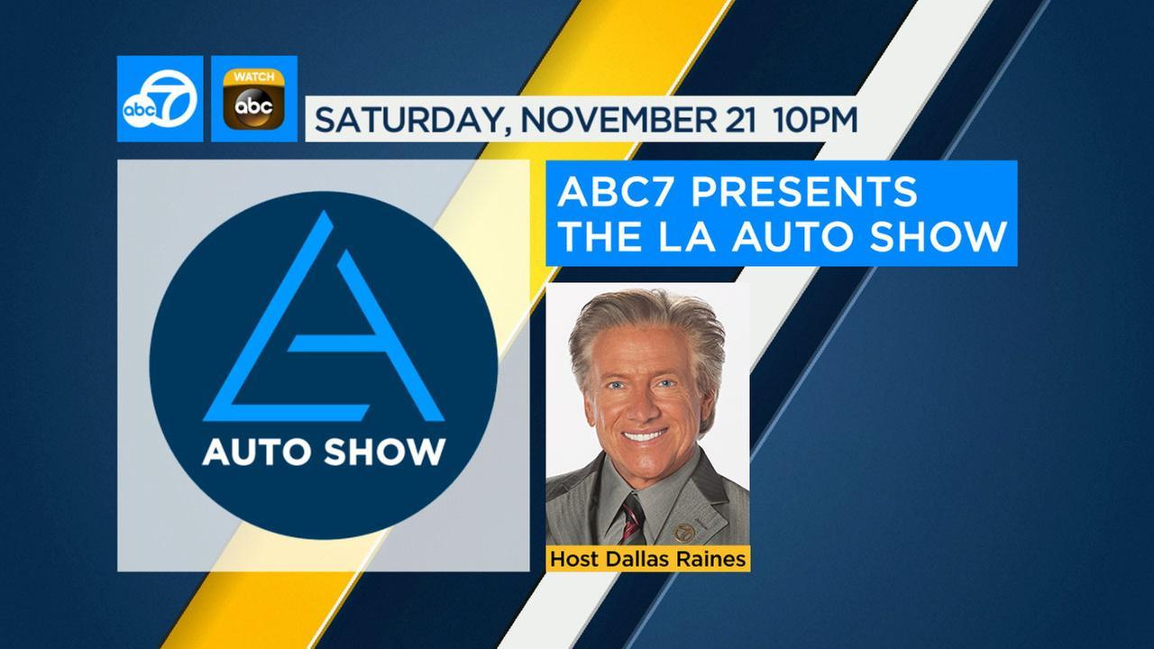 ABC7 Presents the LA Auto Show on November 21