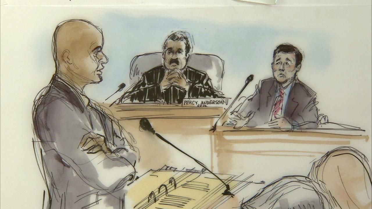 Paul Tanaka, candidate for Los Angeles County Sheriff, took the witness stand for a second day in the trial of six deputy sheriffs accused of obstructing a federal investigation.