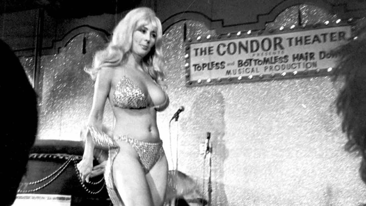 In this Sept. 21, 1978 file photo, Carol Doda performs at the Condor Theater in San Francisco.AP Photo/File