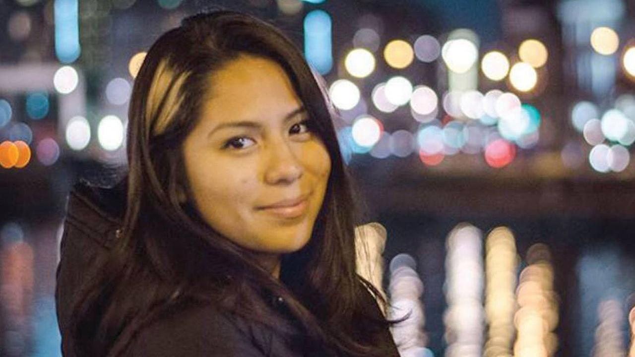 Nohemi Gonzalez, 23, is shown in a photo posted on the Strate College of Designs Facebook page.