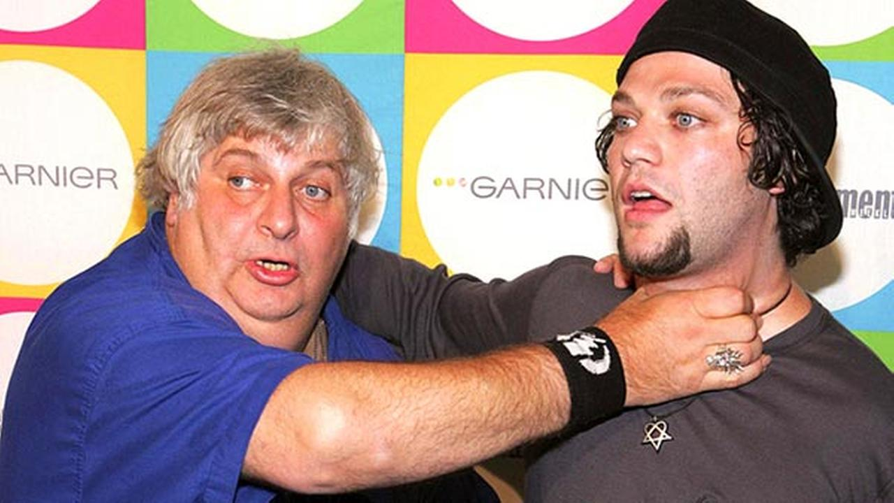Vincent Margera and Bam Margera appear at Entertainment Weeklys Must List Party in New York on Tuesday, June 16, 2005.